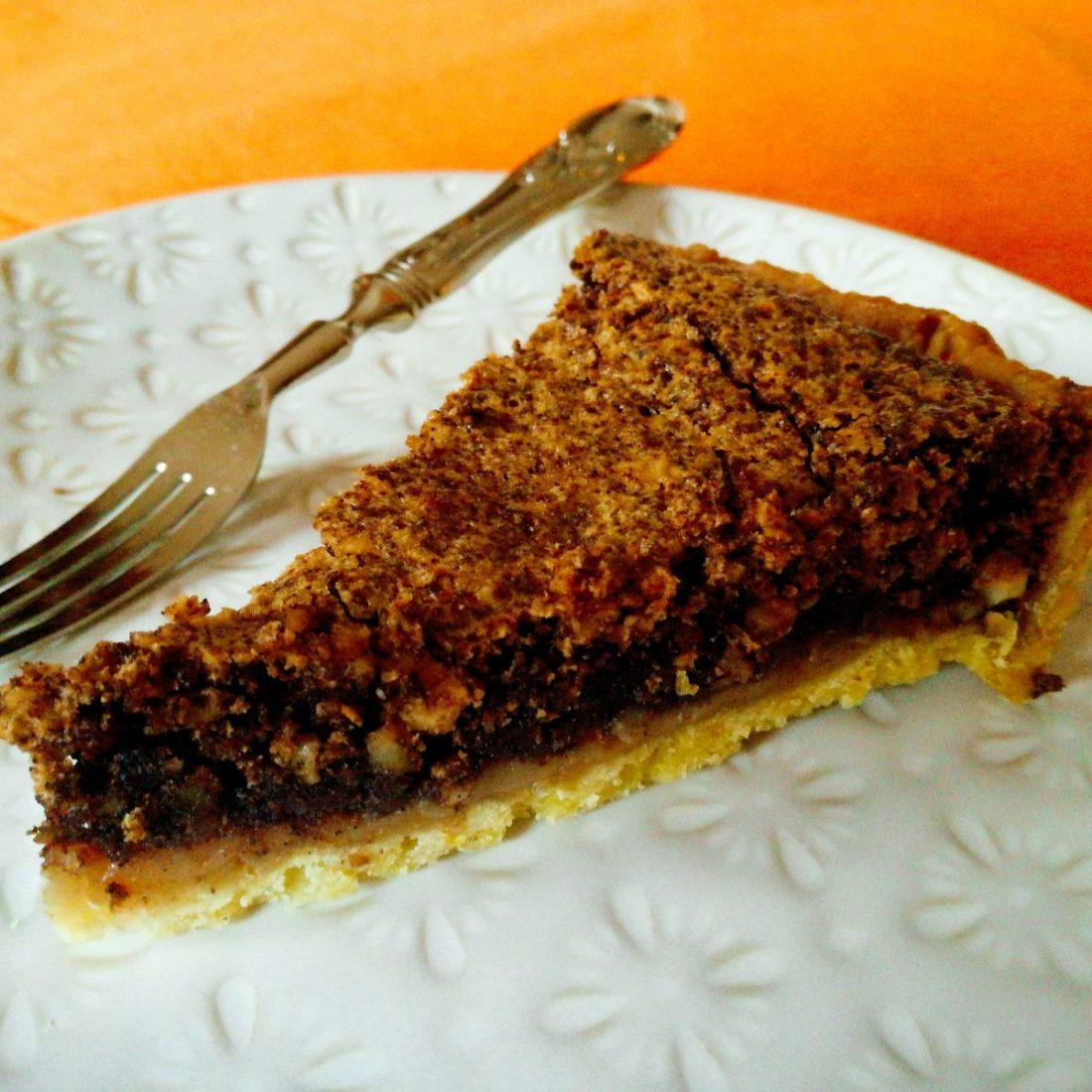 torta antica al caffè mandorle e cioccolato ©Fraduefuochi