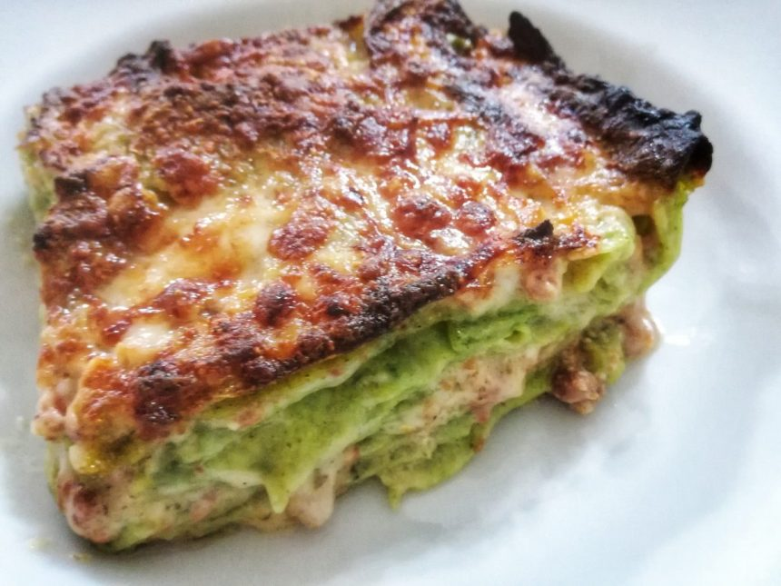 lasagne verdi alla bolognese 3