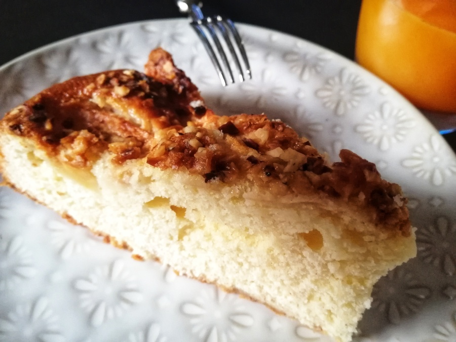 Torta di mele e confettura dialbicocche