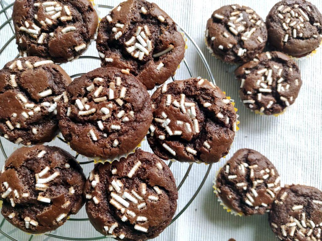 Muffin farina di castagne e cacao 2 blog