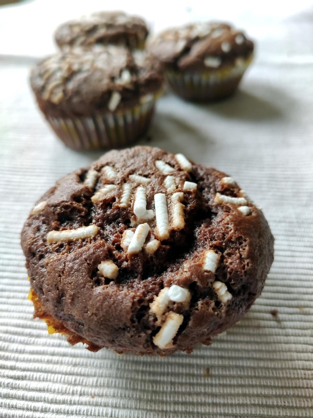 Muffin farina di castagne e cacao blog