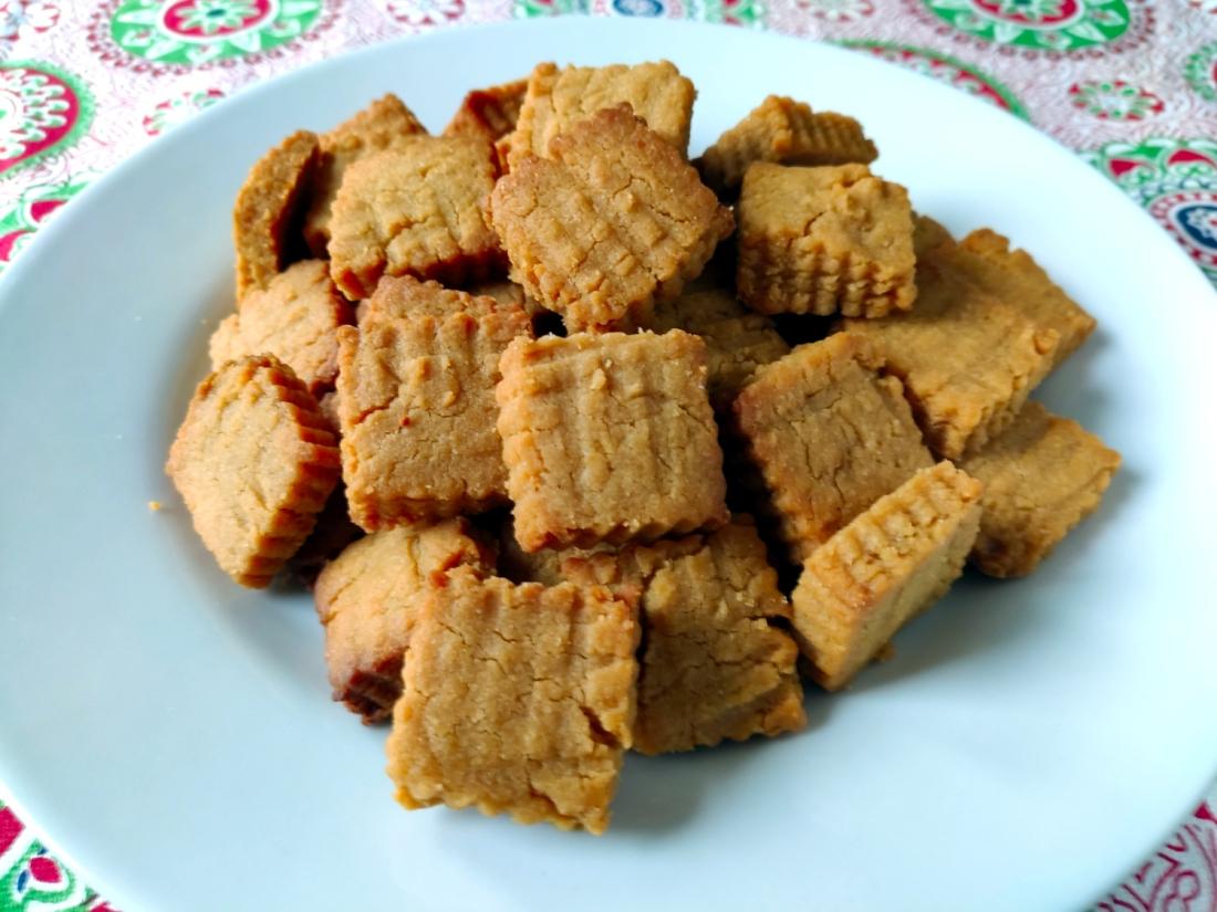 Biscotti burro d'arachidi e lime