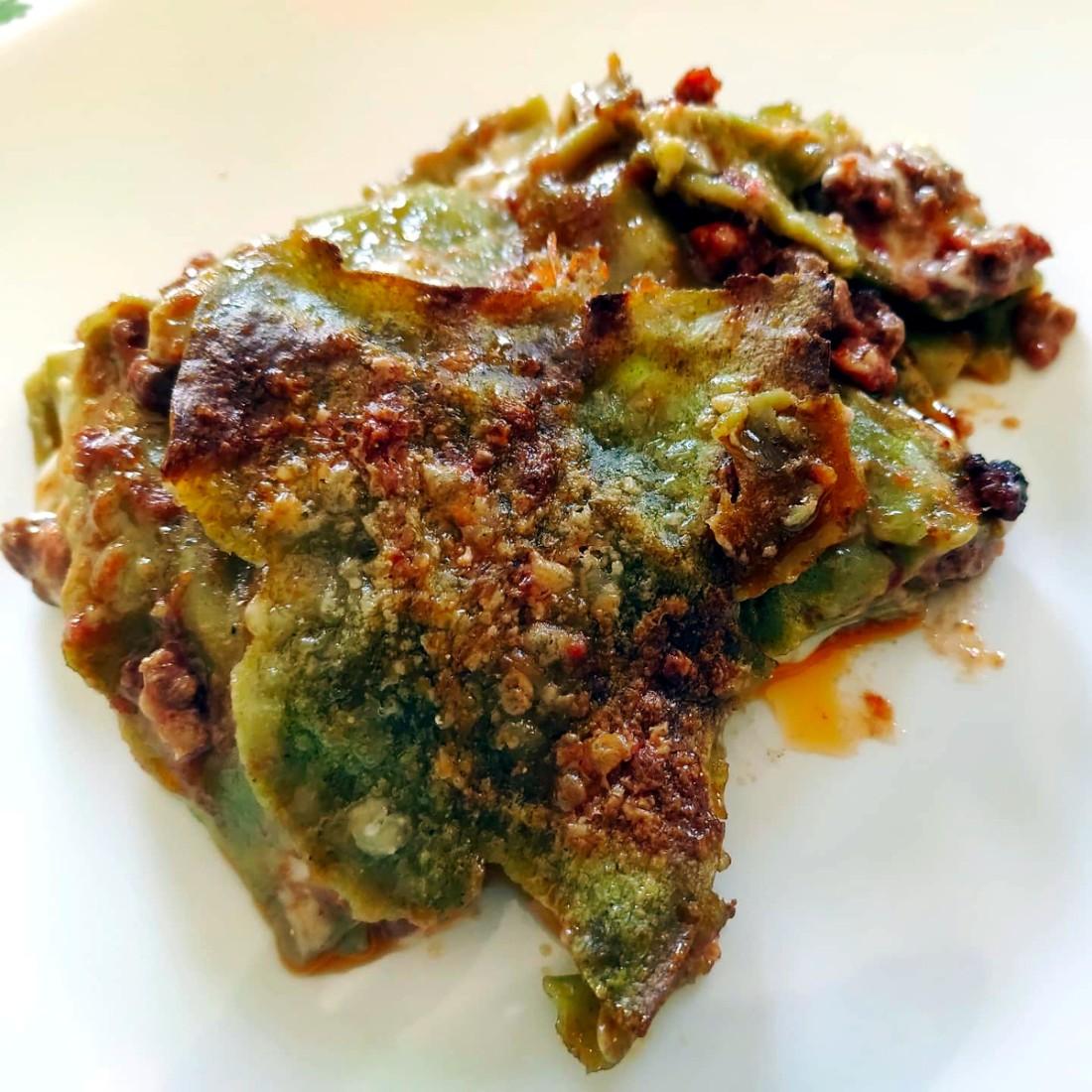 lasagne verdi alla bolognese 1
