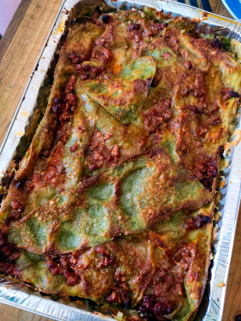 lasagne verdi alla bolognese 2