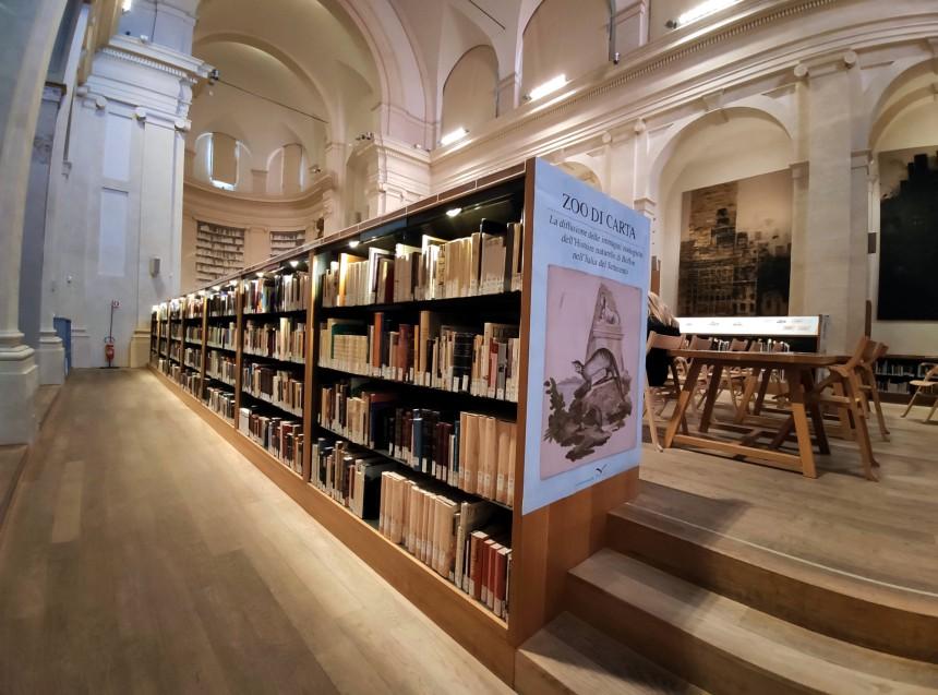 San Giorgio in Poggiale libreria