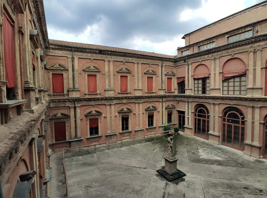 Palazzo Poggi - Cortile d'Ercole